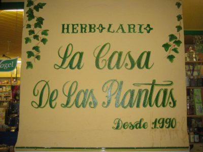 Herbolario LA CASA DE LAS PLANTAS