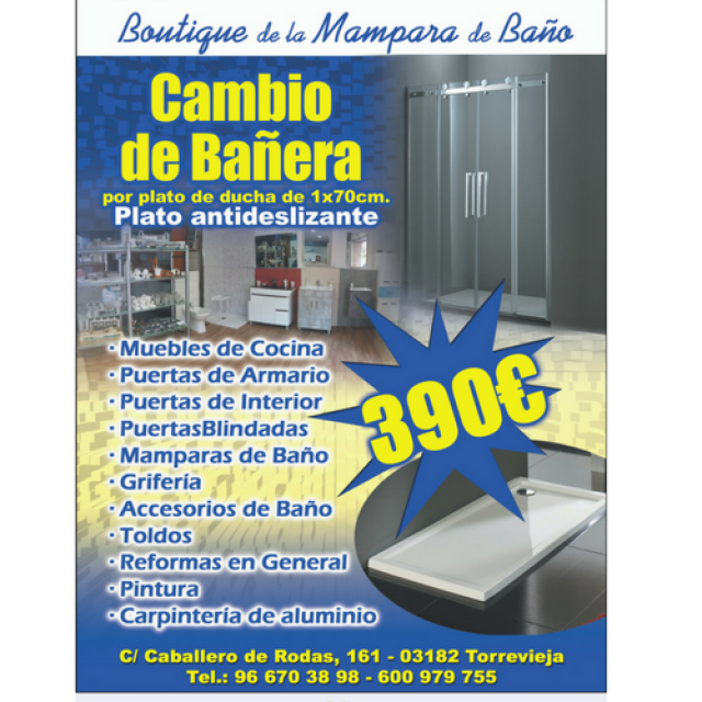 Boutique de la Mampara de Baño