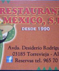 RESTAURANTE MEXICO SL